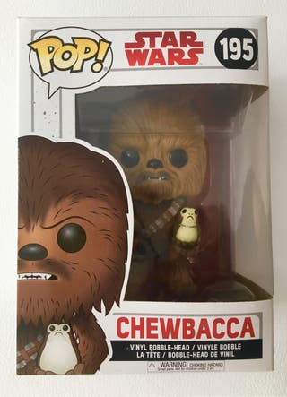 Funko Pop Chewbacca Star Wars 195