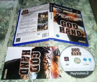GOD HAND ps2 playstation 2