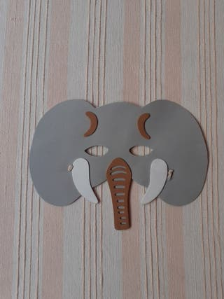 Máscara elefante