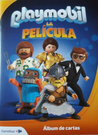 "CROMOS ""PLAYMOBIL"" LA PELICULA."
