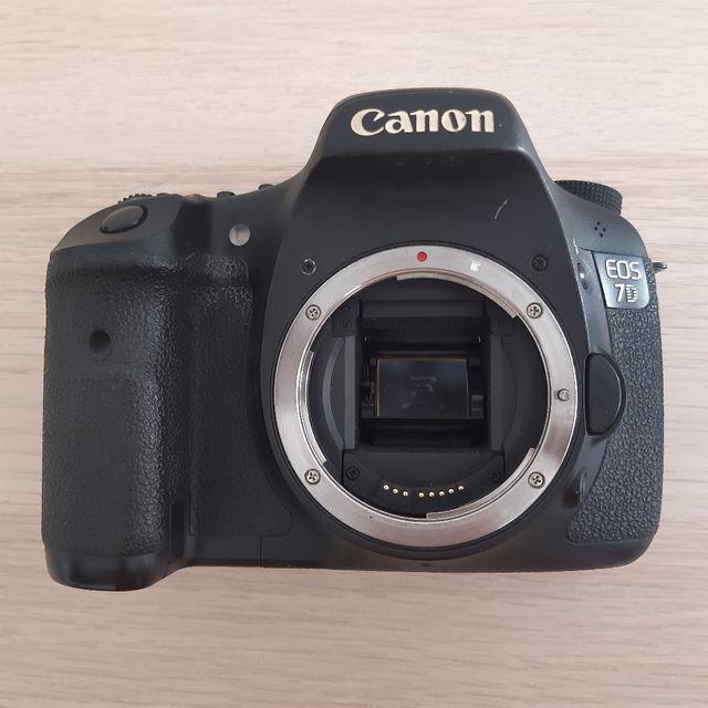 Cámara de fotografía Canon EOS 7D
