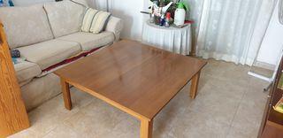 Mesa madera grande de salón