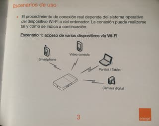 Router de bolsillo, Wi-Fi Móvil 21Mbps ORANGE