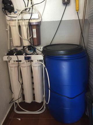 Osmosis industrial o doméstico para acuario