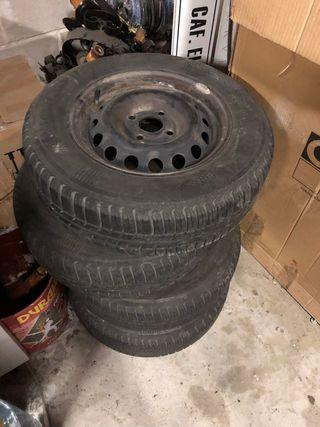 4 neumáticos SEAT panda Terra 175/70/13