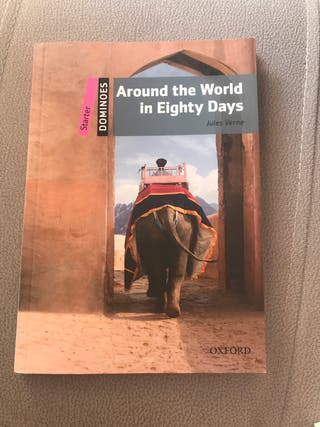 Libro inglés around the world in eighty days