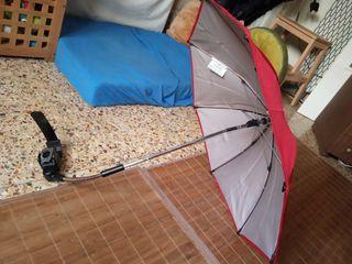 Sombrilla cochecito universal protección solar