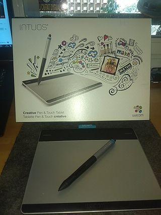 Vendo tableta gráfica Wacom Intuos Pen & Touch sin