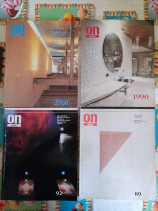 Revista ON, diseño y arquitectura