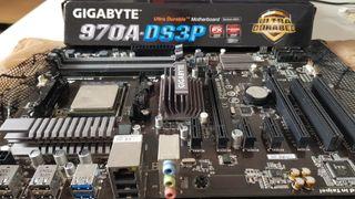 AM3 Fx-6300 con placa base Gigabyte