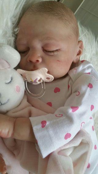 Bebé Reborn. Muñeco real