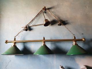 lampara billar reglamentaria