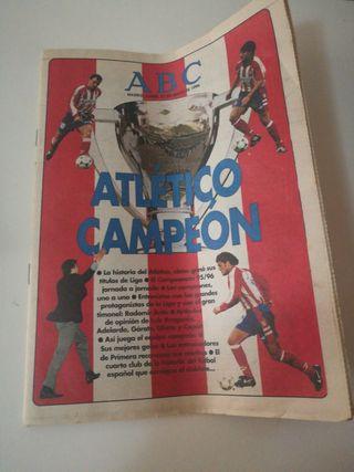 Periódico AS y ABC de 1996