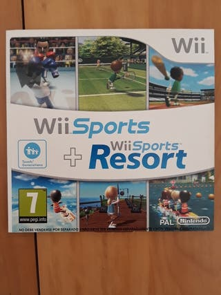 Juegos Wii (Wii SPORTS+Wii SPORTS RESORT)