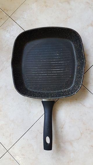 Sarten plancha grill IBILI cuadrada 28x28 cm