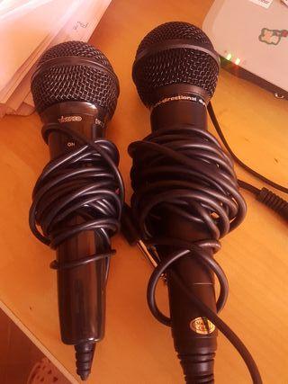 2 microfonos