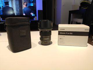 Sigma 50mm F1.4 DG Art para Canon