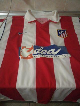 Camiseta Atlético de Madrid 00/01