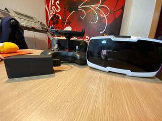 Bebop 2 sky controller, gafas FPV y cargador