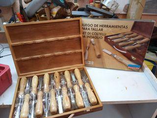herramientas para tallar