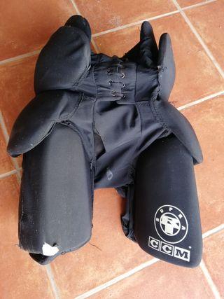 pantalon de protección e hockey