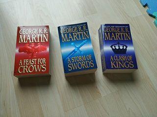 Libros de juego de tronos (en inglés)