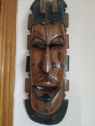 Adorno de madera para pared