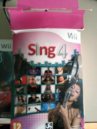 JUEGOS Wii: Cars 2, Wii Party, Sing 4