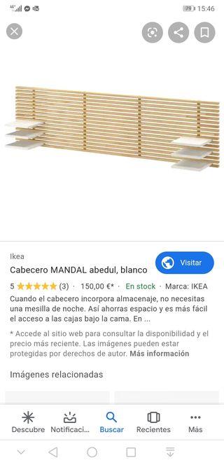 Cabecero Cama Ikea