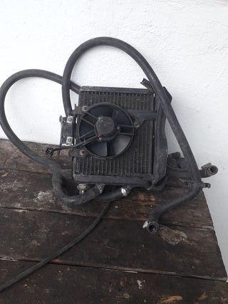 radiador de la Aprilia Leonardo 125 p