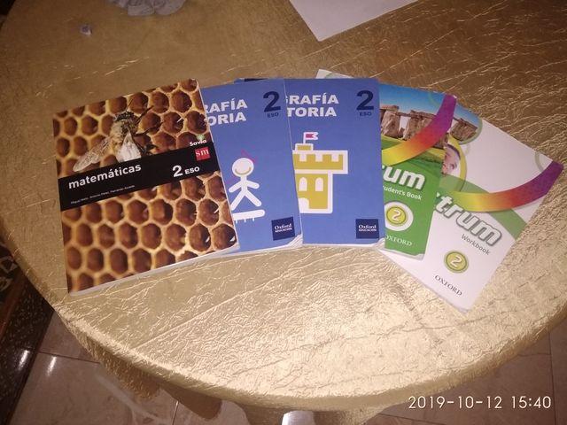 libros de 2°ESO de Juan Antonio Fernández
