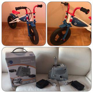Bicicleta Evolutiva + Pedales (Imaginarium)