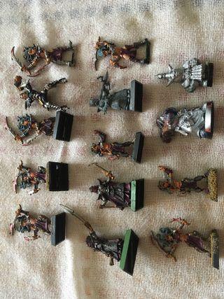14 figuras warhammer blood bowl