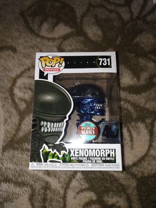 funko pop xenomorph metallic