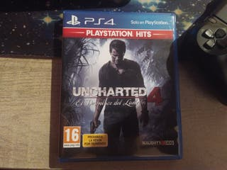 Vendo Uncharted 4 ( ps4 )