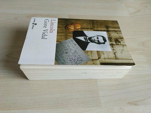 Biografía de Lincoln, por Gore Vidal
