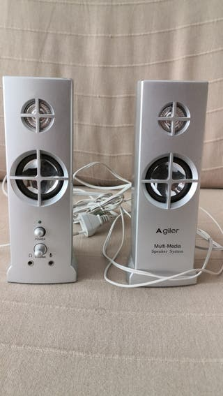 Altavoces stereo PC