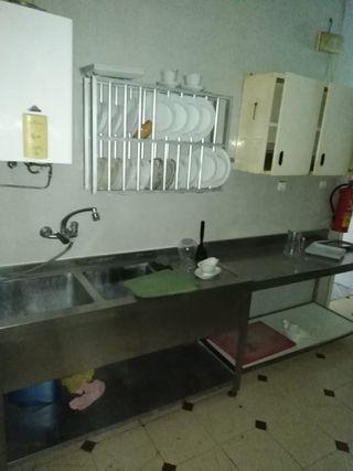 fregadero de hostelería