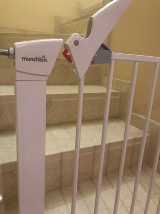 2 Barreras protectoras de escalera para bebes