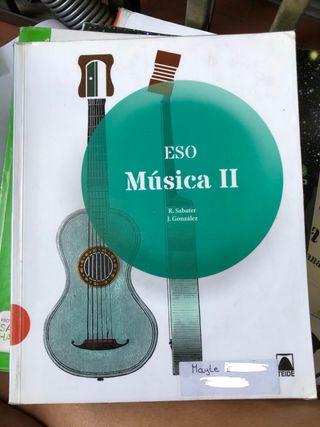 Libro Música Teide