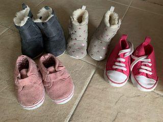 Lote calzado bebe