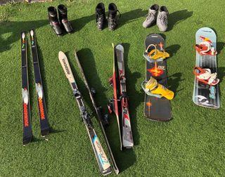 Equipos de Ski & Snowboard