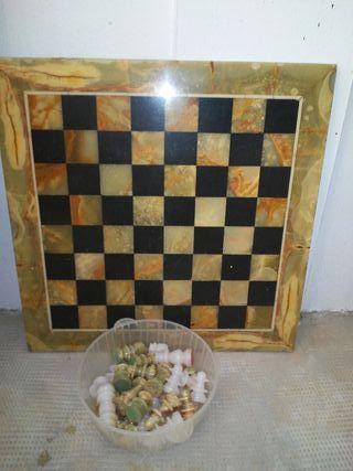 ajedrez de marmol