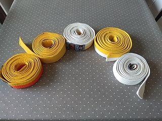 Conjunto de cinturones de Judo