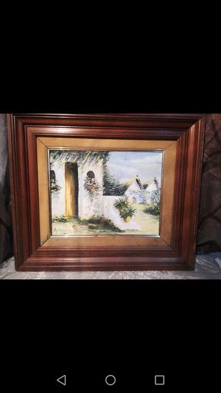 Antiguo cuadro de Rocamora 54x46
