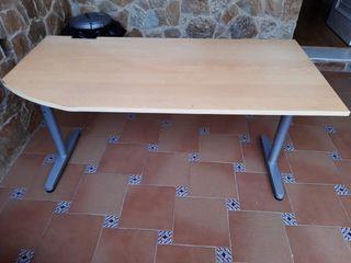 Vendo escritorio ikea color roble