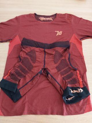Pack Hoko Mallas Kamikaze + Camiseta Kyo Tallas M.