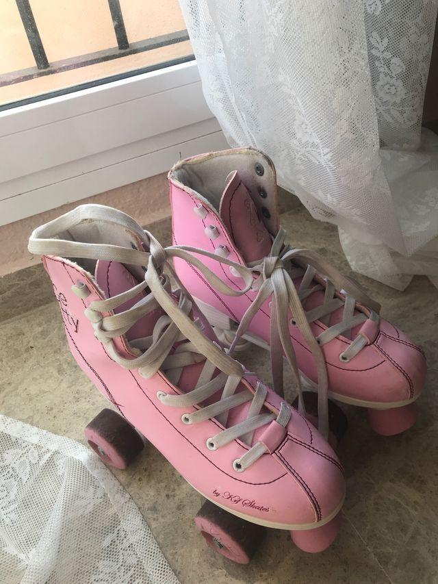 Patines rosa de decatlon precio negociable