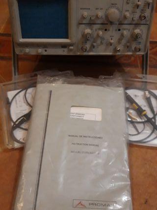 Osciloscopio de mesa PROMAX