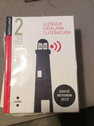 Llibre catala 2n batx